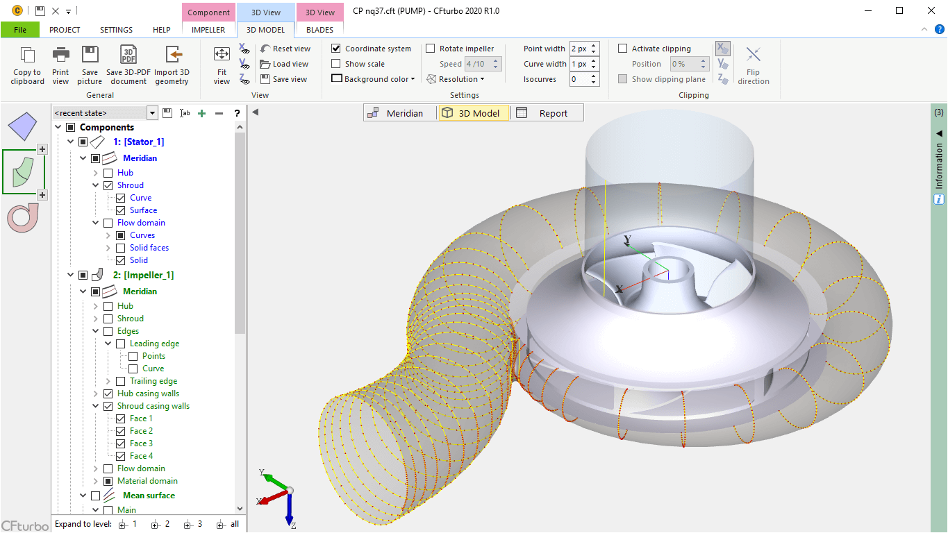 Cfturbo Turbomaschinery Design Software And Engineering