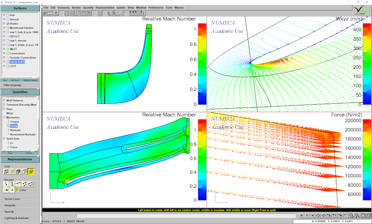 CFturbo: CAD/CFD/FEA Interfaces & Workflows
