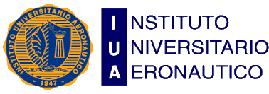 Logo: Instituto Universitario Aeronáutico IUA